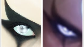 Tutorial : Anime Eye Makeup 187 • Diana