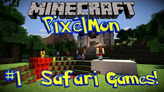 Pixelmon Safari Games (Minecraft Pixelmon Pokemon Mod)