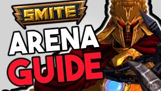 SMITE Arena Guide for Beginners - Basics of Arena 2018