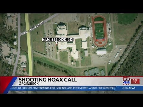 911 threat leads to Groesbeck High School 'lock out'