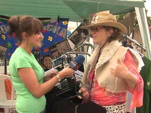 VeggieVision.TV Presents.....Circus 2 Iraq Interview WMV Vegan Bristol Fayre