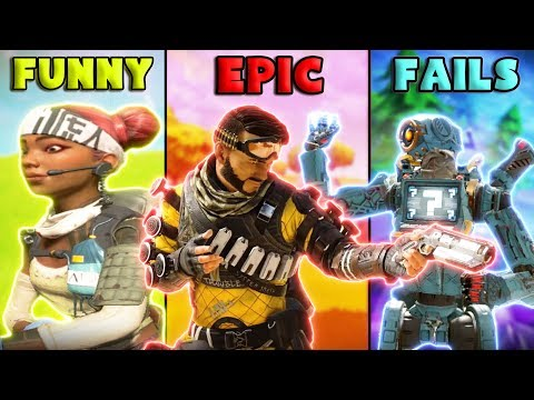 FUNNY Vs EPIC Vs FAILS - NEW Apex Legends Funny Epic Moments #42
