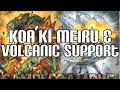 Yugioh Koa'ki Meiru Overdose & Blaze Accelerator Magazine - New Support