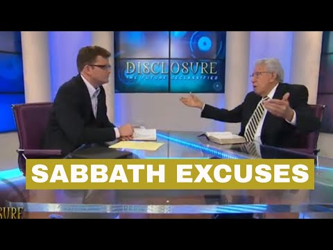 Are there Excuses to Not Keep the Sabbath?