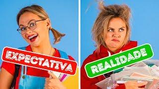 VOLTA ÀS AULAS – EXPECTATIVA X REALIDADE || por 123 GO!