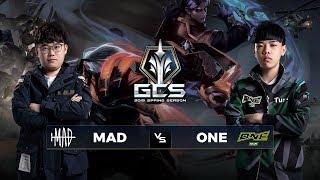 MAD Team vs ONE Team - Tuần 9 Ngày 1 - GCS Mùa Xuân 2019