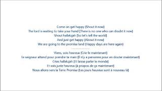 Glee - Happy days are here again/Get happy / Paroles & Traduction