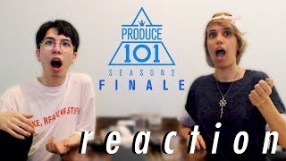 Produce 101 Season 2  - Finale Reaction (Final Top 11)