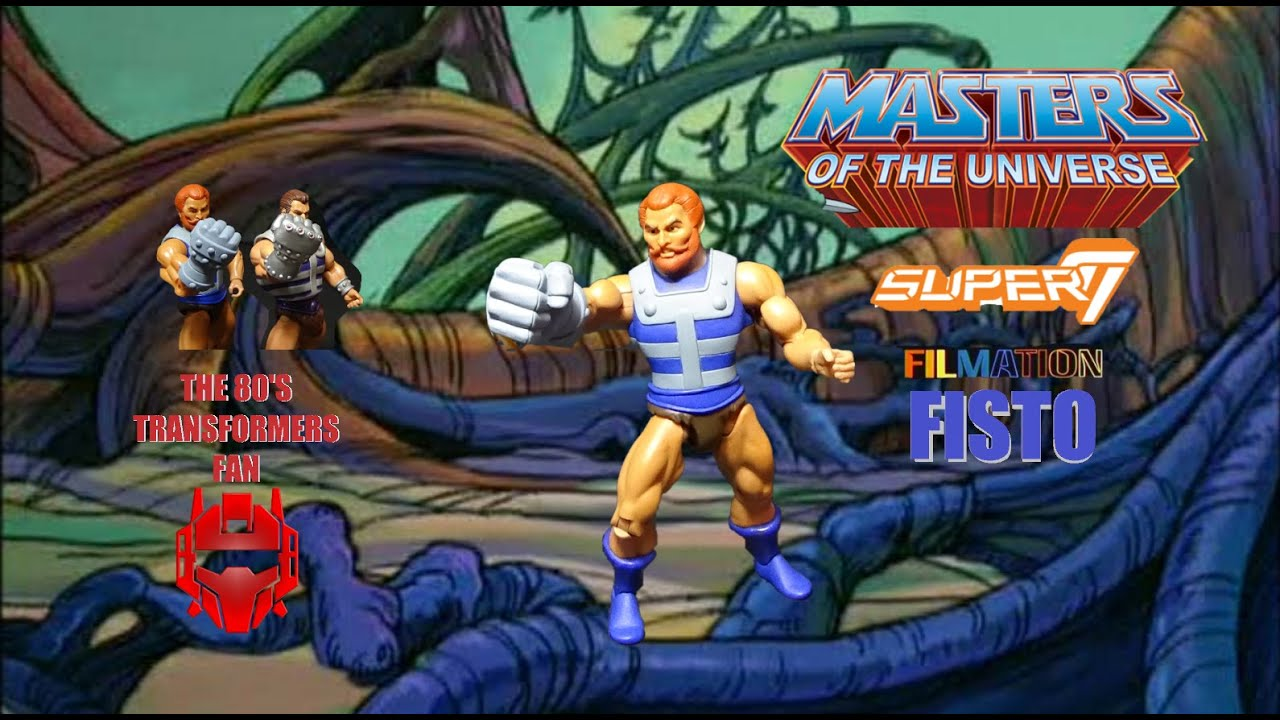 Super 7 Fisto MOTU Club Grayskull Masters of the Universe