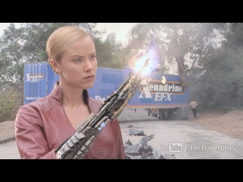 Kristanna Loken Car Chasing Scene | Terminator 3: Rise Of The Machines