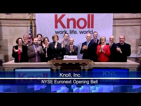 10 Feb 2011 Knoll, Inc. NYSE Opening Bell
