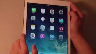 Apple IPad Air Review (White Silver, 16GB Wi-Fi). Apple Ipad gb g Обзор