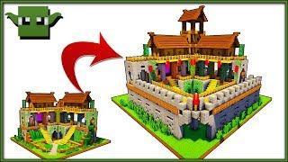 Minecraft 2 Player Survival Base - UPGRADE