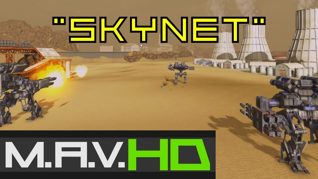 """Skynet"" (Machine Learning AI Game) MAV Gameplay Trailer ..."
