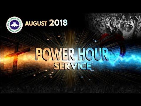 RCCG DUBAI August 2018 POWER HOUR SERVICE