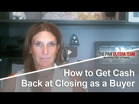 Philadelphia Real Estate Agent: How to get cash back at closing as a buyer