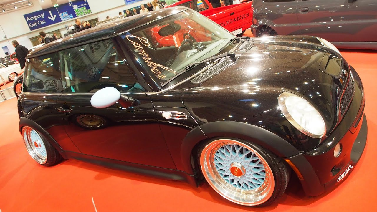 bmw mini cooper s 1 6 180 ps tuning at essen motorshow exterior walkaround youtube. Black Bedroom Furniture Sets. Home Design Ideas
