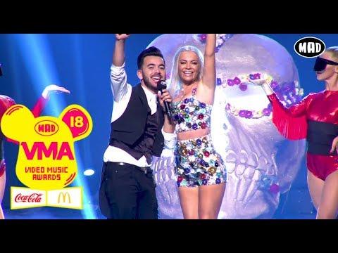 Κωνσταντίνος Κουφός & Νaya - Σε Πήρα Σοβαρά 2018 | Mad VMA 2018 by Coca-Cola & McDonald's