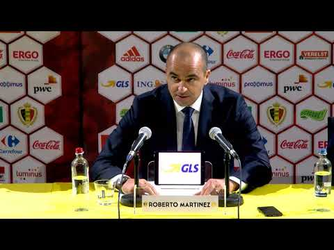 Press Conference Belgian Red Devils Gibraltar and Greece