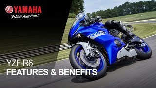 Yamaha YZF-R6 Features & Benefits