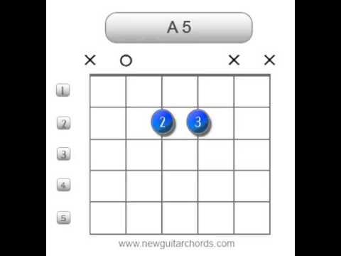 A5   Guitar Chords