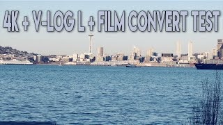 4k + V-Log L + Film Convert Test