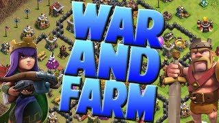 Clash Of Clans War And Farming Live! NEW YEARS LIVE STREAM! Clash Of Clans 2018!