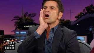 John Stamos Wanted to Leave a Dodger Game at
