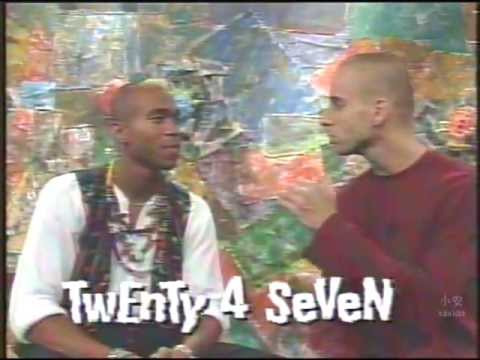 Twenty 4 Seven @ MTV Brazil Radio Vitrola (Interview 1995)