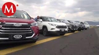 Presentación de vehículos eléctricos de JAC Giant Motors en Hidalgo