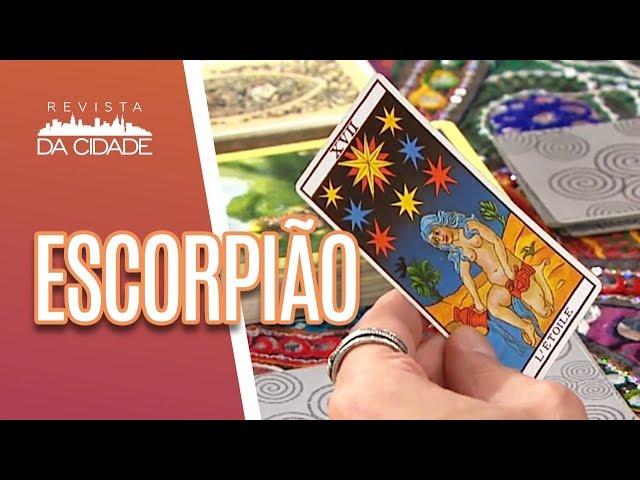 Previsão de Escorpião 23/10 a 21/11 - Revista da Cidade (11/03/19)