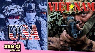 Đặc Công Việt Nam Sánh Ngang Đặc Nhiệm Mỹ | Những Khóa Huấn Luyện Quân Sự KHẮC NGHIỆT Nhất Thế Giới