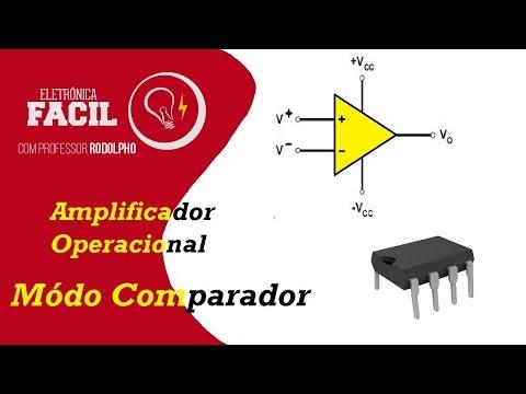 Amplificador Operacional - Comparador de tensão
