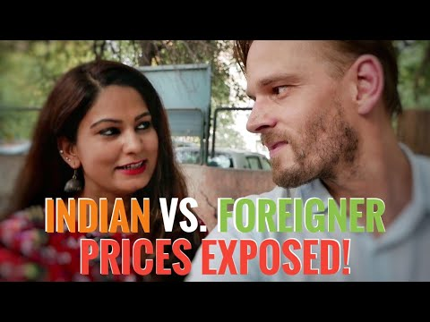How Much More 💰 Are Foreigners Charged in India?