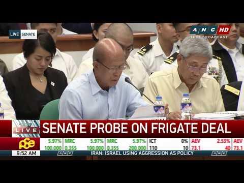 WATCH: Senate investigates Navy frigate deal