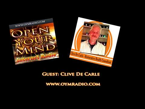 Open Your Mind (OYM) Radio - Clive De Carle - 22nd April 2018