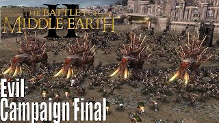 The Lord Of The Rings: The Battle For Middle-earth 2 Evil Campaign Final!