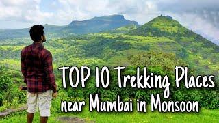 Top 10 Trekking Places Near Mumbai | Monsoon Trekking Near Mumbai | Monsoon Trek