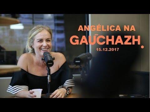 Radio GauchaZH 15-12 Angélica divulga Estrelas do Brasil e fala sobre a candidatura de Huck