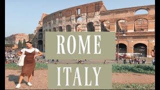 ROME, ITALY  Travel Vlog
