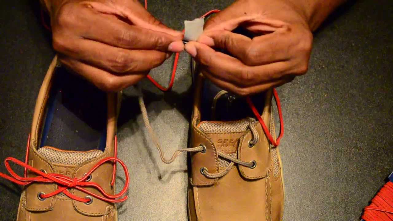 How To Keep Leather Shoe Strings Tied