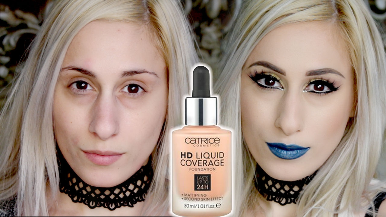 695 The Famous Catrice Hd Liquid Coverage Foundation