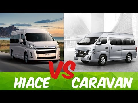 Toyota Hiace 2020 Vs Nissan Caravan 2019