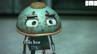 "Gambar cover Snap Whatsapp terbaru keren !!! ""Bondan prakoso - kau tak sendiri(Lirik)"" robot version"