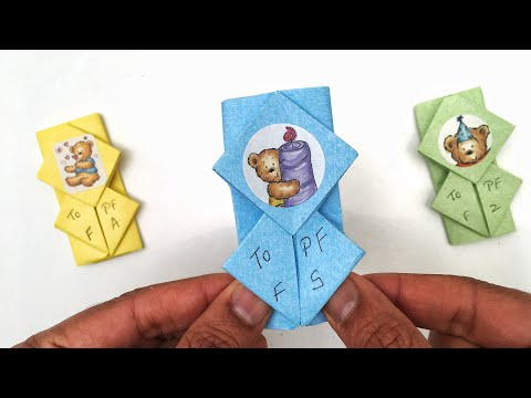 Note Envelope Letter - DIY Origami Tutorial by Paper Folds - 999