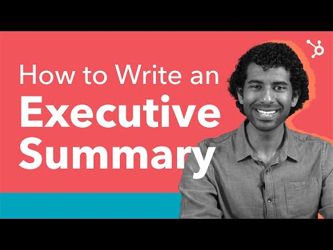 How to Write an Executive Summary - (Step by Step)