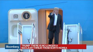 Trump: There Is No Longer a Nuclear Threat From North Korea