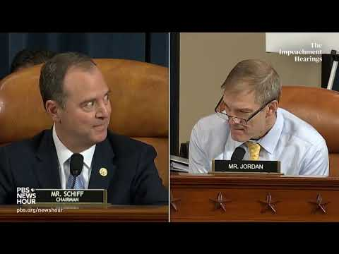 PBS NewsHour: WATCH: Schiff says he doesn't know the whistleblower's identity