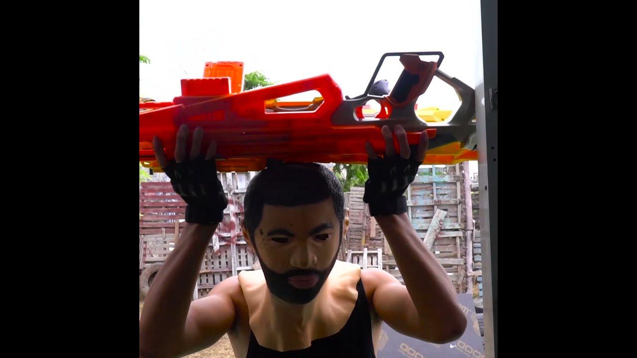 Alpha group Nerf Guns Battle #01 #Shorts