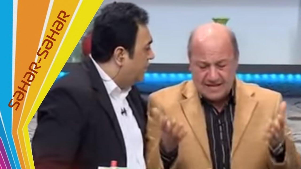 Xalq artistiniz olumu Eli Mireliyevi goz yasina bogdu - Seher-seher - ARB TV